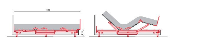 Mechanism with metal frame RU 310-A-5