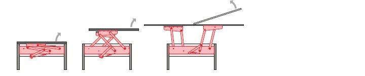 Table mechanism PT 009-5